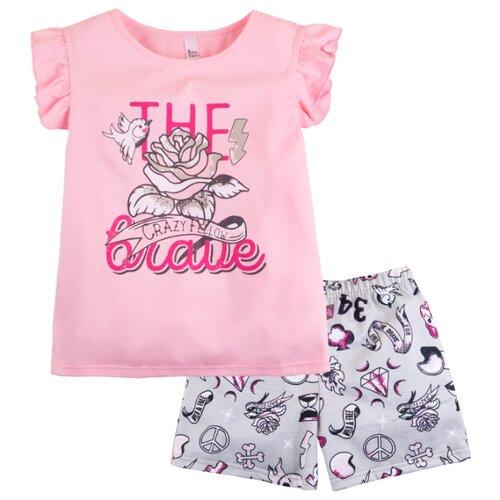 Пижама Bossa Nova размер 30, розовый/бежевая набивкаДомашняя одежда<br>