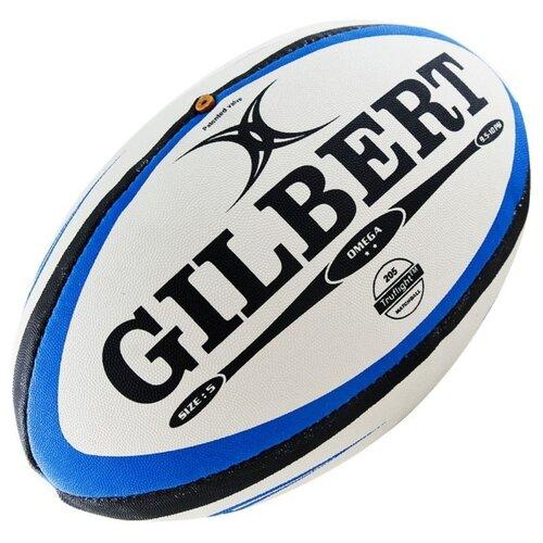 Мяч для регби Gilbert Omega blue/black