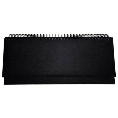 Планинг Prof-Press Виладж недатированный, искусственная кожа, 56 листов, черный