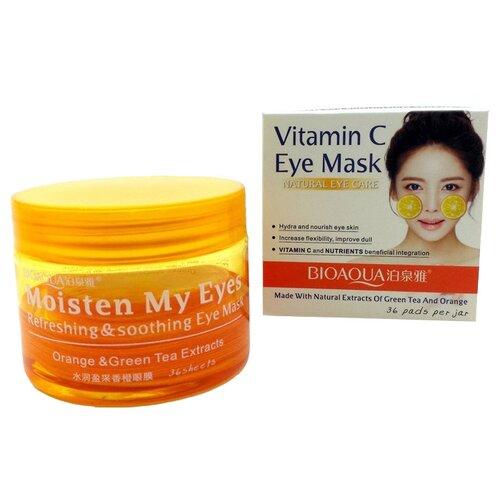 BioAqua Маски-патчи для глаз от темных кругов с витамином С (36 шт.) лиерак от темных кругов