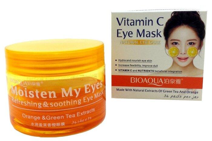 BioAqua Маски-патчи для глаз от темных кругов с витамином С (36 шт.)