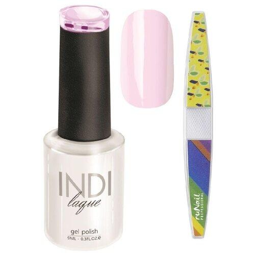 Набор для маникюра Runail пилка для ногтей и гель-лак INDI laque 3345Гель-лак<br>