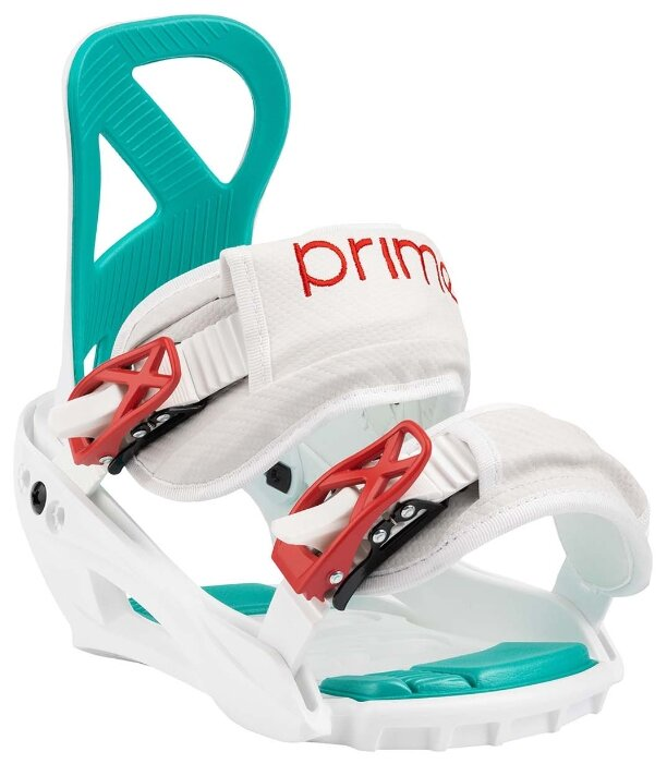 Крепления для сноуборда PRIME - MAGIC размер S (35-38 RU), цвет белый