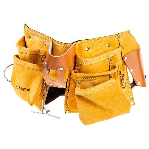 Пояс STAYER 38512 брюки stayer stayer mp002xw1gkru