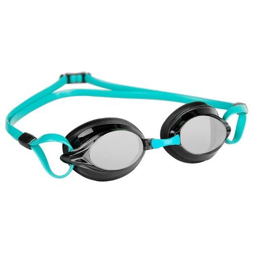 Очки для плавания MAD WAVE Spurt azure/black очки для плавания mad wave triathlon azure clear black