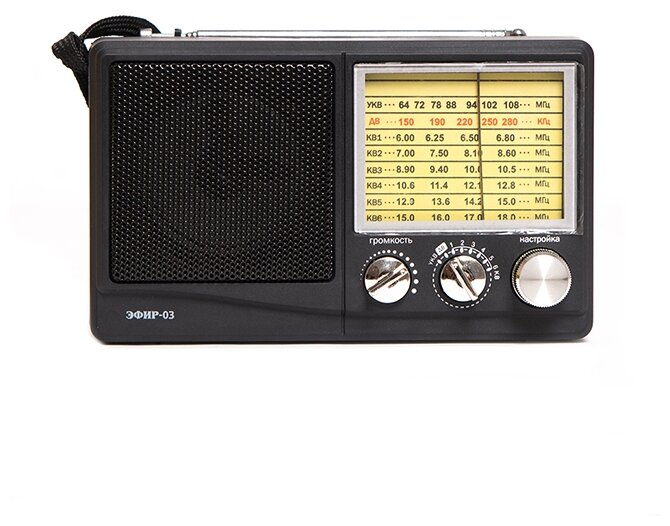 Стоит ли покупать Радиоприемник ЭФИР 03 черный - 18 отзывов на Яндекс.Маркете (бывший Беру)
