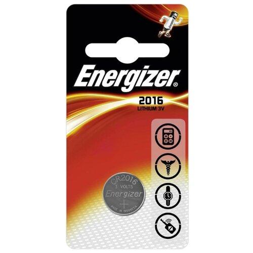 Батарейка Energizer CR2016 1 шт блистер батарейка energizer cr2016 2 шт блистер