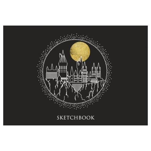 Купить Скетчбук Harry Potter: Hogwarts (чёрный), Канц-Эксмо, Альбомы для рисования