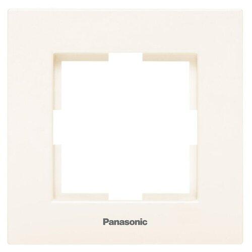 Рамка 1п Panasonic WKTF0801-2WH-RES, белый удлинитель panasonic wltb0445 2wh res