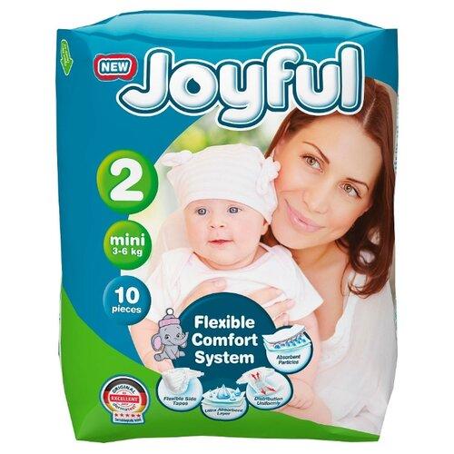 Купить Joyful подгузники 2 (3-6 кг)10 шт., Подгузники