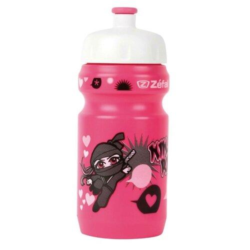Фляга Zefal Little Z - Ninja Girl розовый 350 мл ручной насос zefal z cross xl