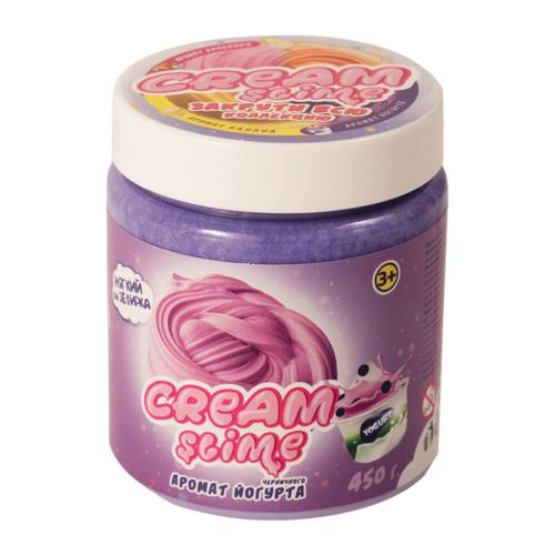 Жвачка для рук SLIME Cream аромат йогурта (SF05-J) фиолетовый