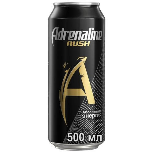 Энергетический напиток Adrenaline Rush, 0.5 л