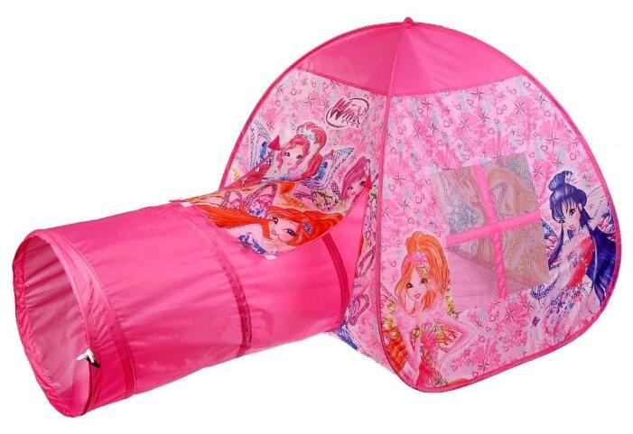 Палатка Играем вместе Winx с тоннелем в сумке GFA-TONWX01-R