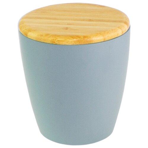 Дозатор для ватных дисков PROFFI Home Blue lagoon PH9582 голубойМыльницы, стаканы и дозаторы<br>