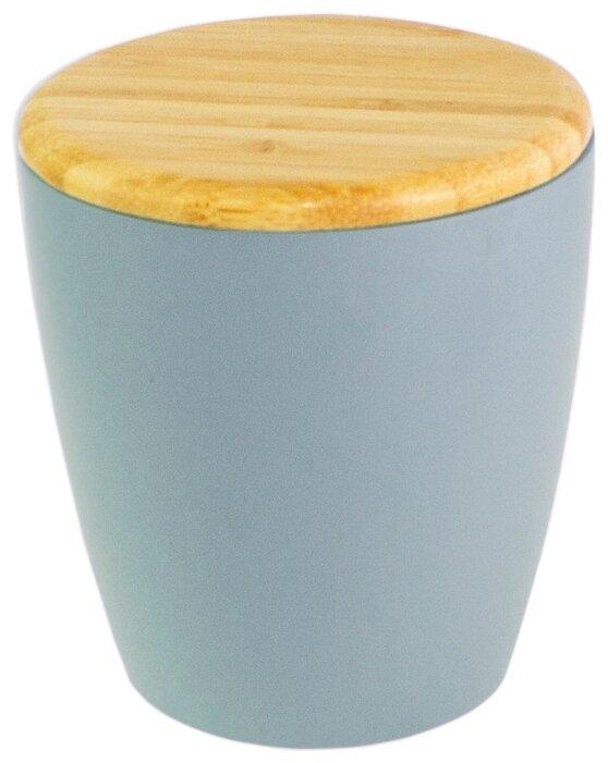 Дозатор для ватных дисков PROFFI Home Blue