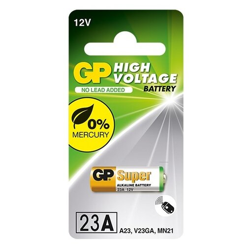 Фото - Батарейка GP High Voltage 23AF 1 шт блистер 6 5x40 6 5 40mm 600ma 650ma 700ma 750ma 800ma 900ma 5kv 0 6a 0 65a 0 7a 0 75a 0 8a 0 9a 5000v microwave oven high voltage fuse