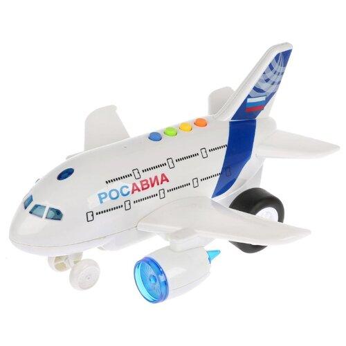 Купить Самолет ТЕХНОПАРК WY720A 24 см белый, Машинки и техника