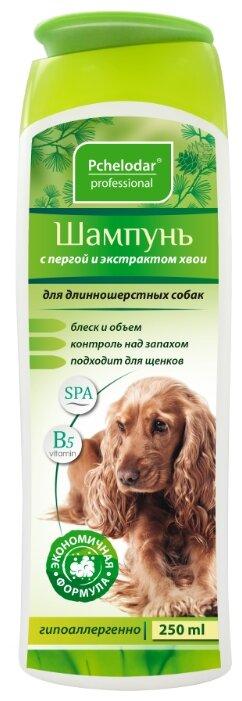 Шампунь Пчелодар с пергой и хвоей для длинношерстных собак 250мл