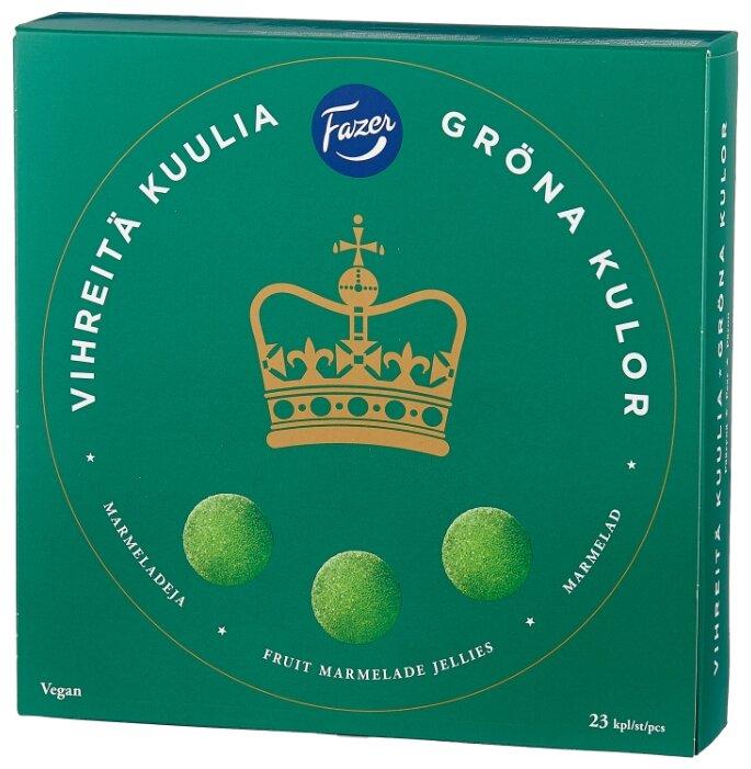 Мармелад Fazer Green Jellies со вкусом груши 500 г