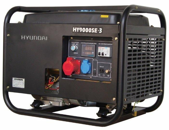 Бензиновый генератор Hyundai HY9000SE 3 (6000 Вт)