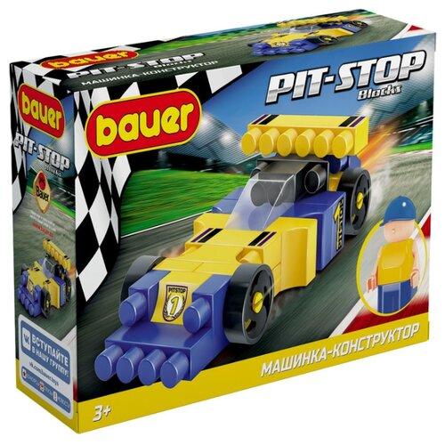 Конструктор Bauer Pit-Stop 814 Гоночная машина