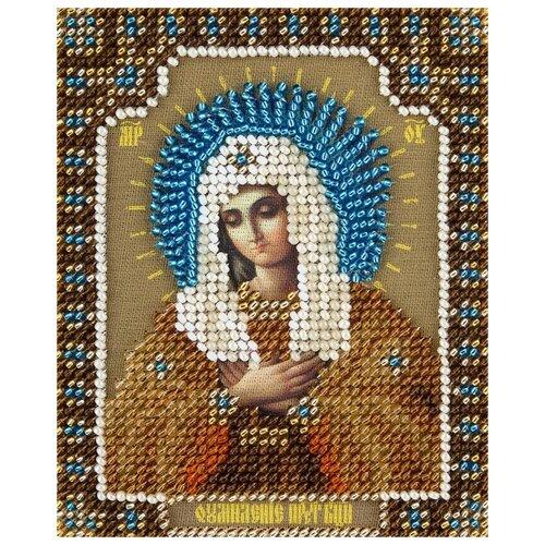 Купить PANNA Набор для вышивания бисером Икона Божией Матери Умиление Серафимо-Дивеевская 8.5 х 11 см (CM-1821), Наборы для вышивания