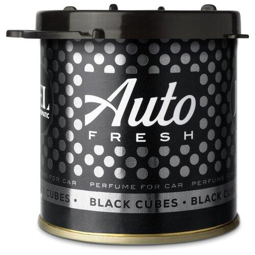 Auto Fresh Ароматизатор для автомобиля Jel Black Cubes 80 мл