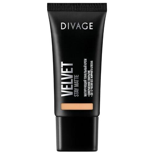 Фото - DIVAGE Тональный крем Velvet, 30 мл, оттенок: 03 divage тональный крем foundation luminous 25 мл оттенок 01