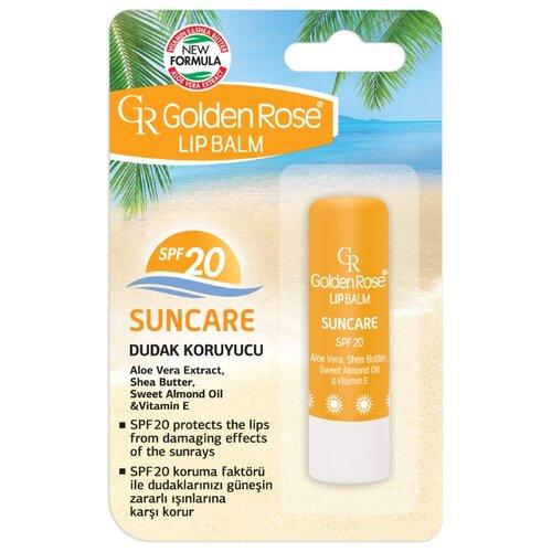 Golden Rose Бальзам для губ Защита от солнца SPF 20 защита стекол от солнца