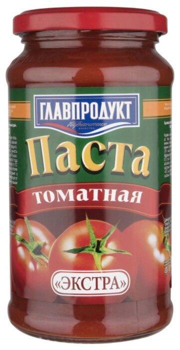 Главпродукт Томатная паста Экстра, стеклянная банка