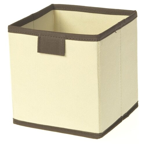 You'll love Коробка для хранения 15*14*14 см бежевый/коричневый коробка для хранения обуви white clean 35 21 14 см