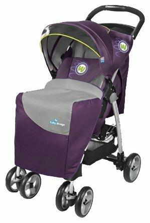 Прогулочная коляска Baby Design Walker (2012)