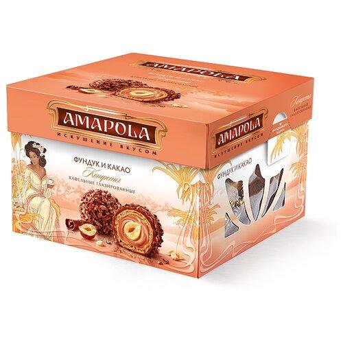 Набор конфет Amapola Фундук и какао 100 гКонфеты в коробках, подарочные наборы<br>