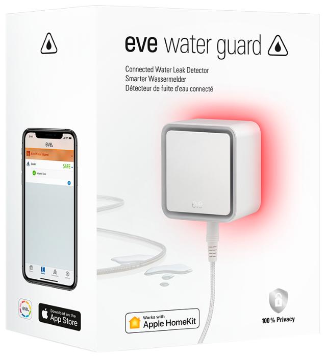 Беспроводной датчик протечки Eve Water Guard
