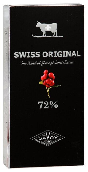 Шоколад SWISS ORIGINAL горький с кусочками клюквы