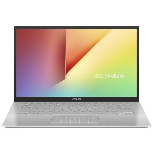 Купить Ноутбук ASUS VivoBook 14 X420FA-EB085T (Intel Core i3 8145U 2100 MHz/14 /1920x1080/4GB/128GB SSD/DVD нет/Intel UHD Graphics 620/Wi-Fi/Bluetooth/Windows 10 Home) 90NB0K01-M04220 серебристый