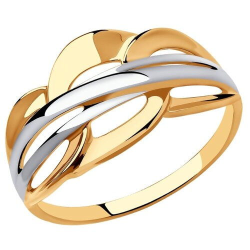 SOKOLOV Кольцо из золота 018593, размер 17.5