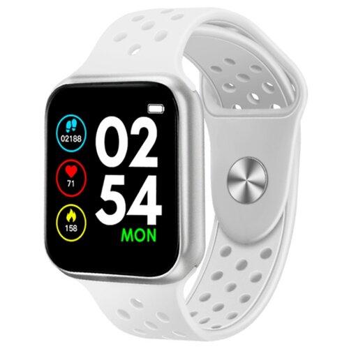 Купить Умные часы BandRate Smart SHF88 белый/серебристый