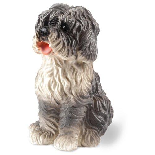 Фото - Игрушка для ванной ОГОНЁК Собака Артошка (С-770) белый/серый игрушка для ванной огонёк лось