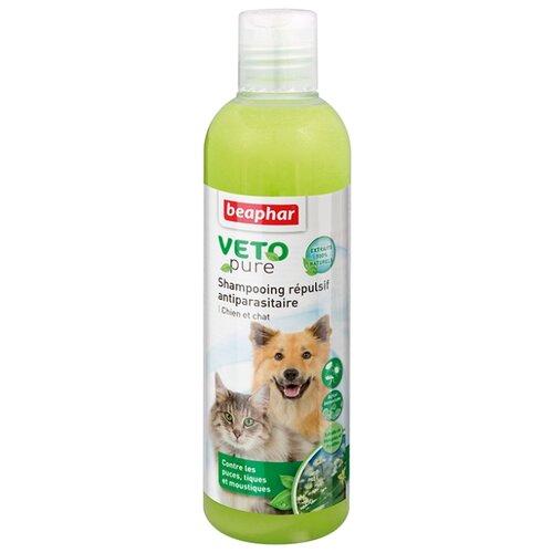 Beaphar шампунь от блох и клещей Bio для собак и кошек от 12 нед., 250 мл