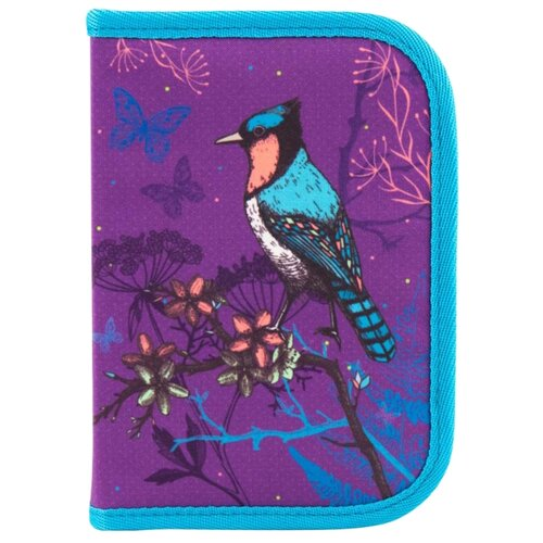 Купить Kite Пенал (K18-621-2) фиолетовый/голубой, Пеналы