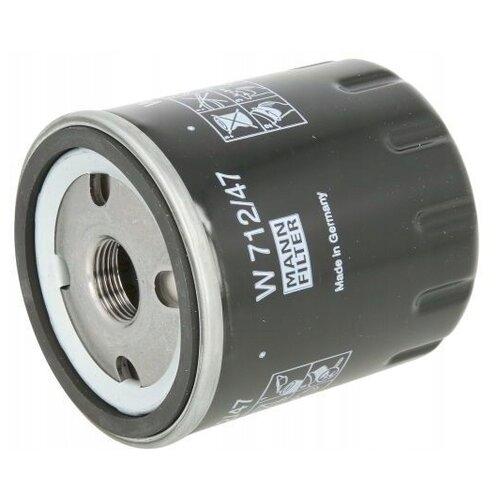 Масляный фильтр MANNFILTER W 712/47 масляный фильтр mannfilter w 712 4