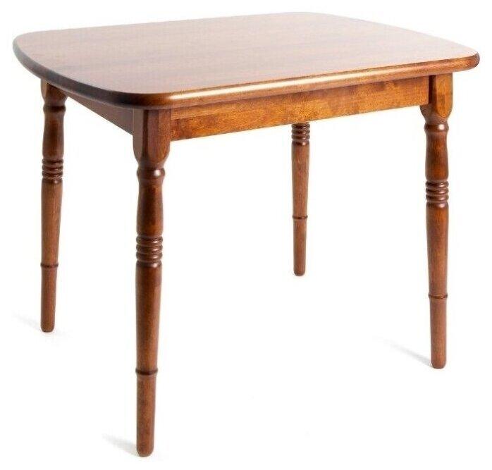 """Стол прямоугольный из массива дерева """"Комплимент"""" (70 х 94 см), тёмный орех, Экомебель - Характеристики - Яндекс.Маркет"""