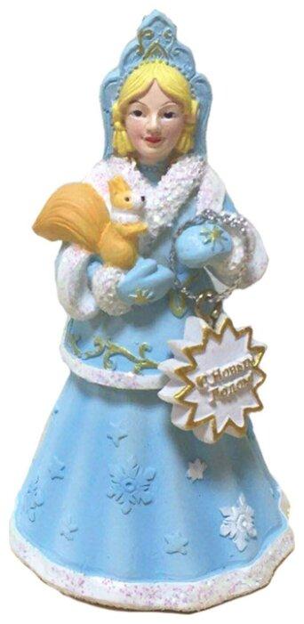 Елочная игрушка Magic Time Снегурочка с белочкой (77841)