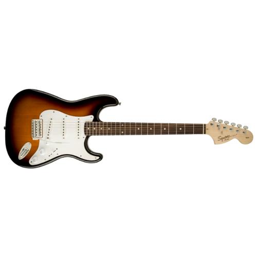Электрогитара Squier Affinity Stratocaster brown sunburst