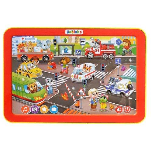Купить Планшет Zabiaka Веселый светофор (3276092) красный/желтый, Детские компьютеры