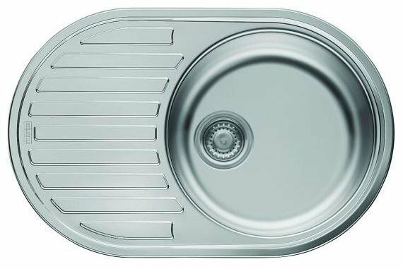 Врезная кухонная мойка FRANKE PML 611 77х55см нержавеющая сталь