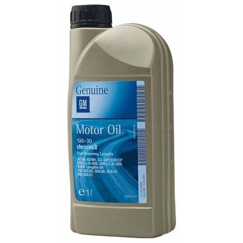 цена на Моторное масло GENERAL MOTORS Dexos2 Longlife 5W30 1 л