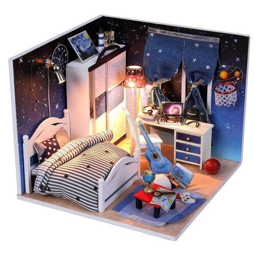 Купить Dolemikki кукольный домик ZQW04, синий/белый, Кукольные домики